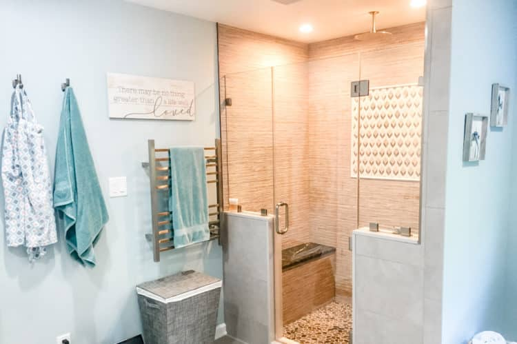 Master Bathroom Spa Overview