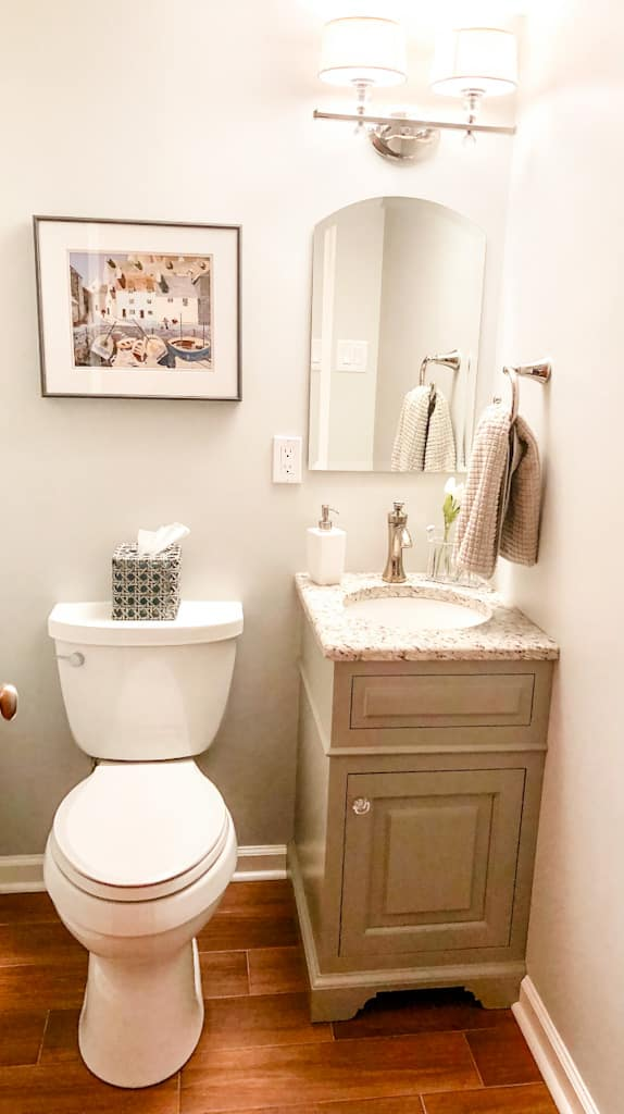 Feat Small Powder Room Overview