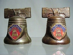 Liberty Bell Salt and Pepper Shakers