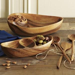 Wooden Serving Set